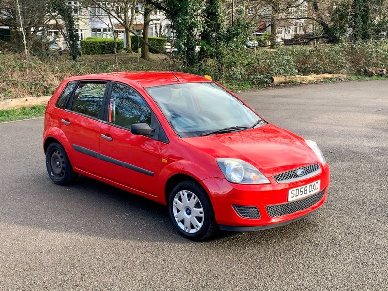 Ford Fiesta (2008) SD58 OXC